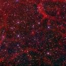 Sh2 240 Detail in H-alpha,                                jerryyyyy