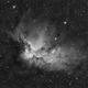 Wizard Nebula NGC7380 Ha,                                Bogdan Jarzyna
