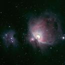 Orion and Running Man Nebula,                                rrobbins