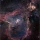 The Heart Nebula IC1805 (Two Panel Mosaic),                                Randal Healey
