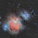 M42 - Orion Nebula & Running Man (HDR),                                Ahmet Kale