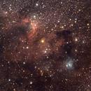 Cave Nebula (Sh2-155) in Cepheus,                                Keith Lisk