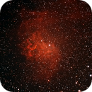 Flaming Star Nebula, IC405, SH 2-229, or Caldwell 31,                                marcopics3000