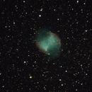 M27 - Dumbbell Nebula,                                pete4www