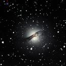 NGC5128 - Centaurus A - May 23, 2014,                                Jesús Piñeiro V.