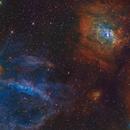Bubble Nebula region,                                Christer Strandh