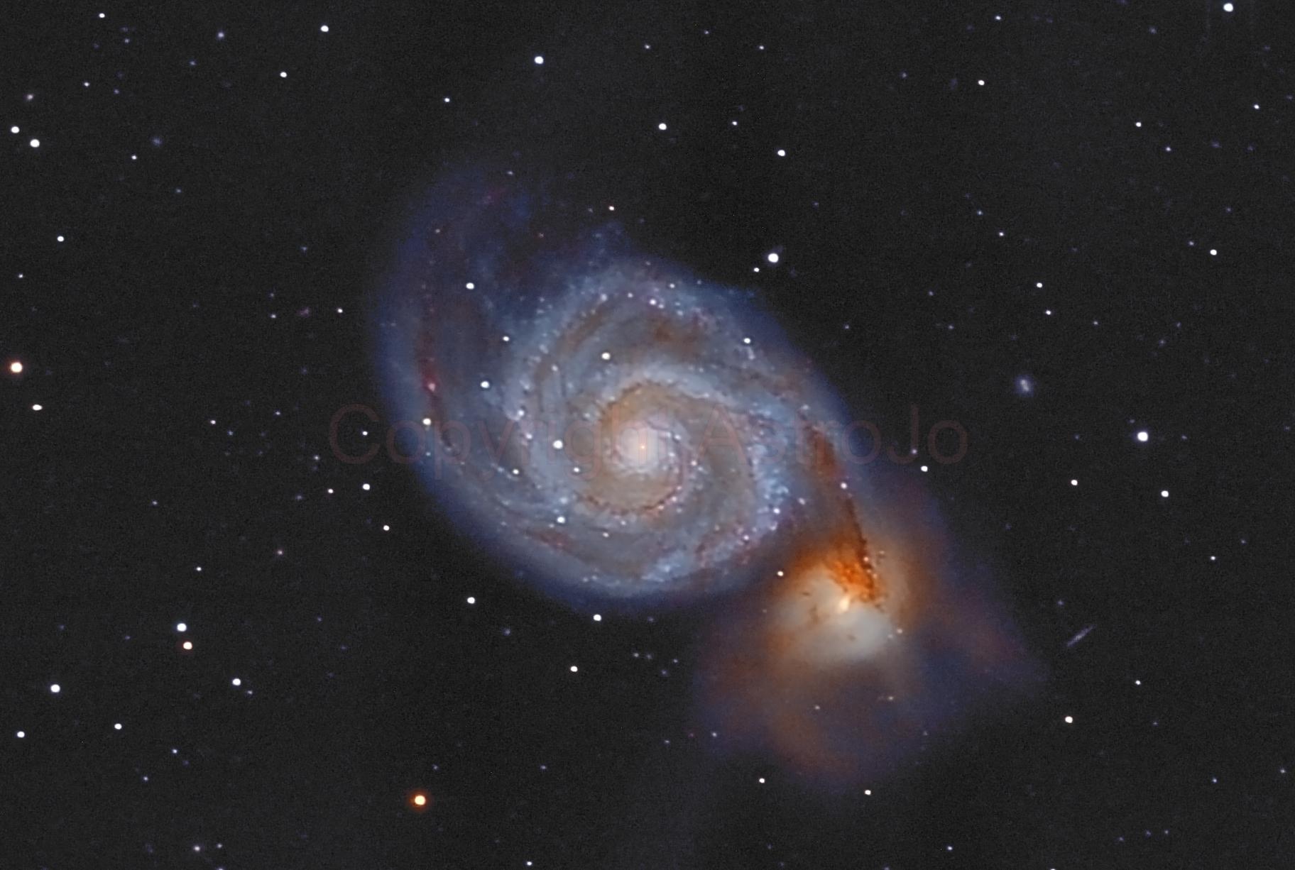 "M51 ""Whirlpool-Galaxy"",                                Joachim"