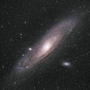 Andromeda Galaxy,                                Aaron Hakala