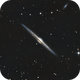 NGC 4565 Edge on Galaxy in Coma Berenices. RGB,                                Pat Rodgers