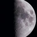 First Quarter Moon w/Lunar X and V,                                Trevor