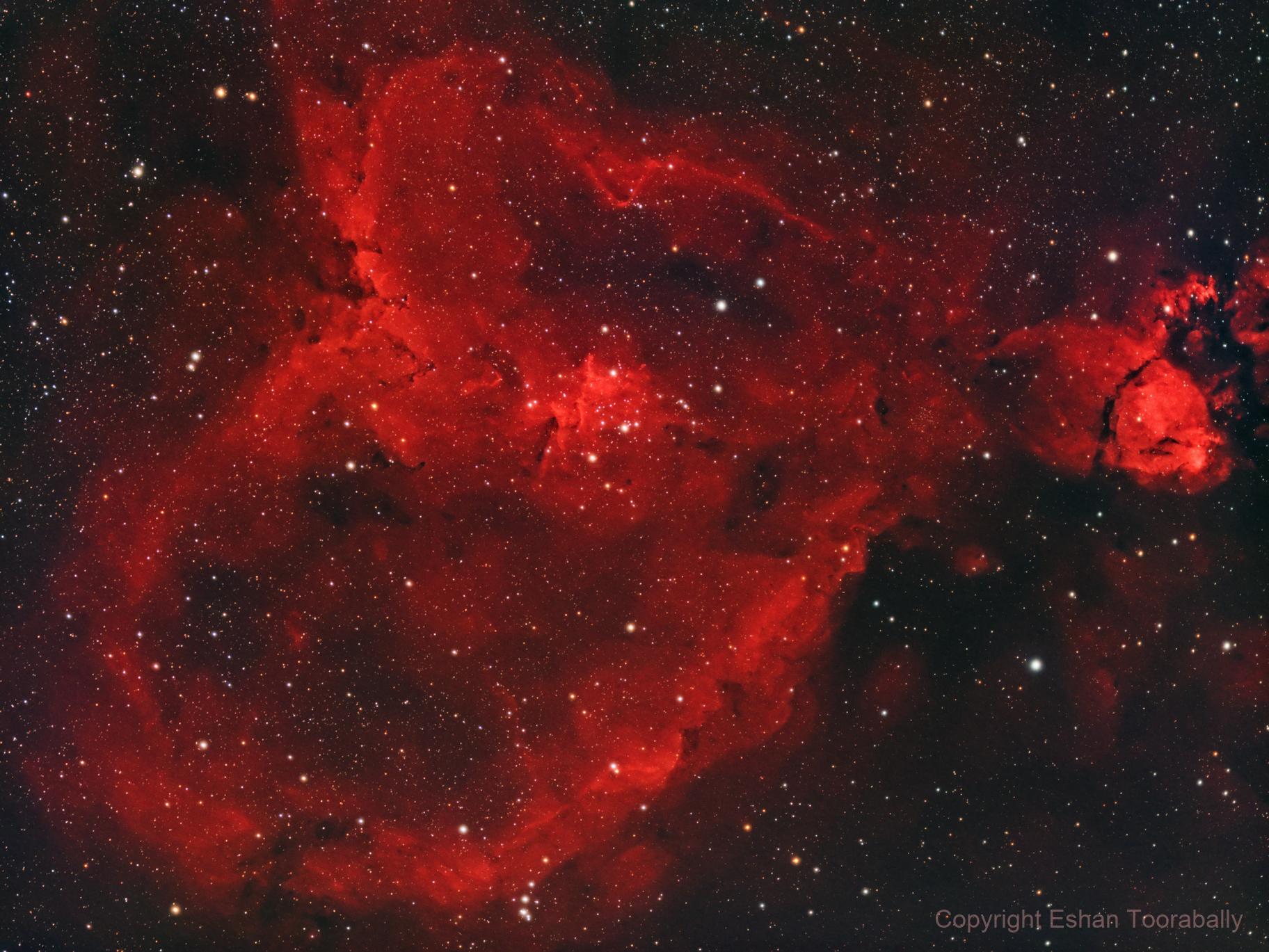 IC1805 The Heart Nebula (2021 Edition),                                Eshan Toorabally