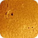 2013-05-01 @ 12-47-12gmt: The Sun in Ha -> AR11732 and 11734 in Close-up,                                Fernando