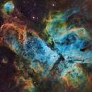 NGC 3372 The Carina Nebula in SHO,                                Matthew Sole