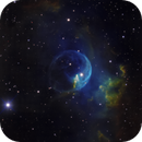 NGC 7635 - a closer look at the Bubble Nebula,                                Thomas Klemmer