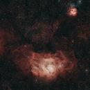 Lagoon & Trifid Nebula,                                muthunag