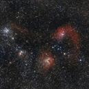 IC405, IC410, IC417, M38 et M36,                                Pascal83
