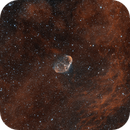Crescent and Soap Bubble Nebula,                                Samuel