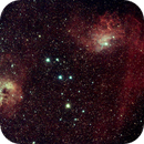 IC405  and IC410,                                keving
