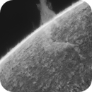 H-alpha Sun Prominence,                                Andrea Tamanti