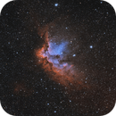 NGC 7380 The Wizard nebula,                                julastro
