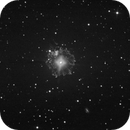 ngc6543 - 964 60 secs unguided exposures in 4 nights in O3 + 548 1 secs exposures for the center,                                Stefano Ciapetti