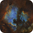 NGC7000 & IC5070 - The North America Nebula and Pelican Nebula,                                Shang