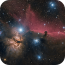 The Horsehead and Flame Nebulae in One Shot Color,                                Alex Roberts