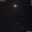 Jupiter and the Donkeys at the Manger (decorated),                                Carpe Noctem Astronomical Observations