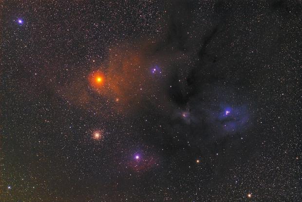 RHO Ophiuchi Antarès,                                LeCarl99