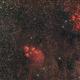 NGC 6334 e NGC 6357,                                GALASSIA 60