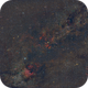 Cygnus  Wide Field  HaRGB Annotated,                                msmythers