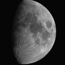 Moon at 9.6 days,                                Richard Kelley