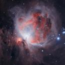 Orion Nebula - HOO HDR,                                astrobrian