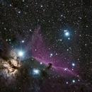 Horsehead and Flame nebula,                                Zoran Vidrih
