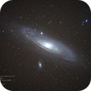 Andromeda Galaxy (M31) with satellite galaxies M32 & M110,                                Isa's Astrophotography Atelier