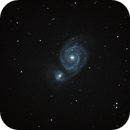 M51 - Whirlpool Galaxy,                                v3ngence