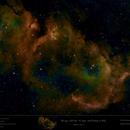 Sh2-199 - LBN 667 - IC 1848 - Soul Nebula in HOO --> SHO,                                Uwe Deutermann