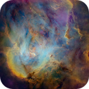 IC 2944 - Hubble Palette - Tone Map - New Process,                                Eric Coles (coles44)