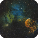 IC443 Jellyfish Nebula,                                Marukawa