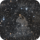 LBN 777 The Baby Eagle Nebula,                                Marc Verhoeven