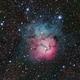 Trifid Nebula,                                kpdvm