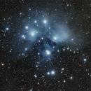 Messier 45 - Pleiades,                                Manuel Peitsch