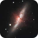 M81 & M82 in Duo narrowband,                                Victor