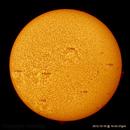 The Sun in Ha:  Full disc in low resolution on 2012-10-16_10-42-37gmt,                                Fernando
