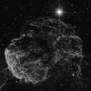 IC 443  - The Jellyfish Nebula in Ha,                                Steve Eltz