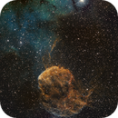 IC443 Jellyfish and Sharpless 249 on RASA 8,                                Piet Vanneste