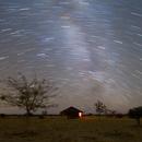 Nightscape under Tivoli's sky in Namibia - the accomodation,                                Thorsten