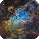 M16 nebula with 33 hours of exposure,                                Jonathan Durand