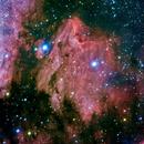 Pelican nebula  IC 5067,                                Boommutt