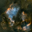 North America and Pelican Nebulas 9 Panel Mosaic,                                Loran Hughes